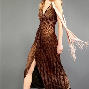 Free People Limited Edition Copper Bronze Ruched 2